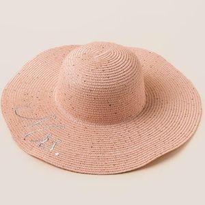 New Blush Mrs Floppy Sun Hat